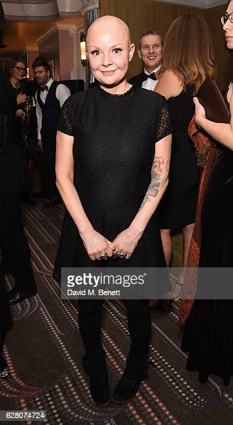 Gail Porter attends Macmillan Cancer Support's celebrity Christmas stocking auction at The Park Lane Hotel on December 6, 2016 in London, England.