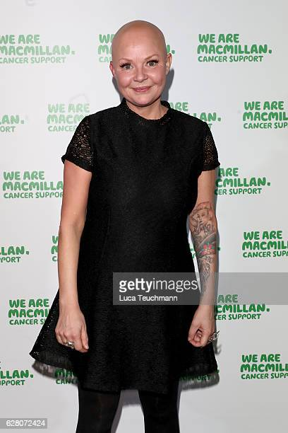 Gail Porter attends the Macmillan Cancer Support Celebrity Christmas Stocking Auction at Park Lane Hotel on December 6, 2016 in London, England.