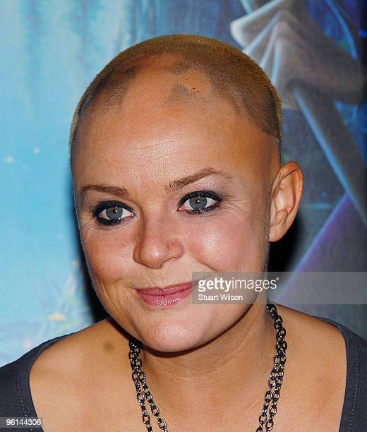 Gail Porter attends 'The Princess And The Frog' Tea Party at the Mayfair Hotel on January 24 2010 in London England