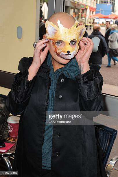 Gail Porter attends the VIP screening of Fantastic Mr Fox at Odeon West End on October 18 2009 in London England