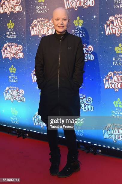 Gail Porter attends the Winter Wonderland VIP launch night at Hyde Park on November 16, 2017 in London, England.