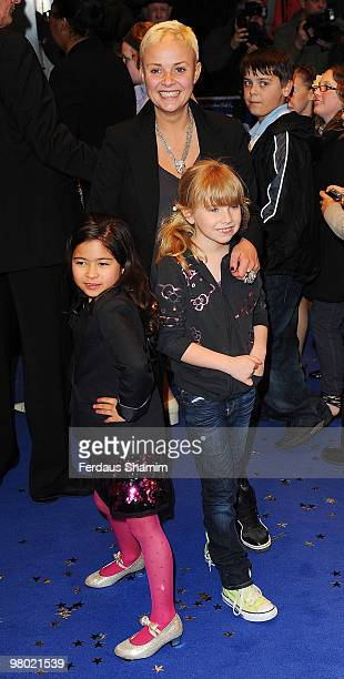 Gail Porter attends the World Premiere of 'Nanny McPhee And The Big Bang' at Odeon West End on March 24 2010 in London England