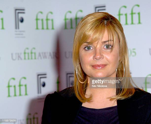 Gail Porter during 2005 UK FiFi Awards Inside Arrivals at The Dorchester in London Great Britain
