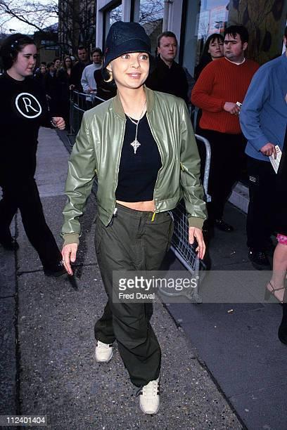 Gail Porter during Gail Porter Arriving at TFI's Studios Feburary 1 2000 at TFI Studios in London Great Britain