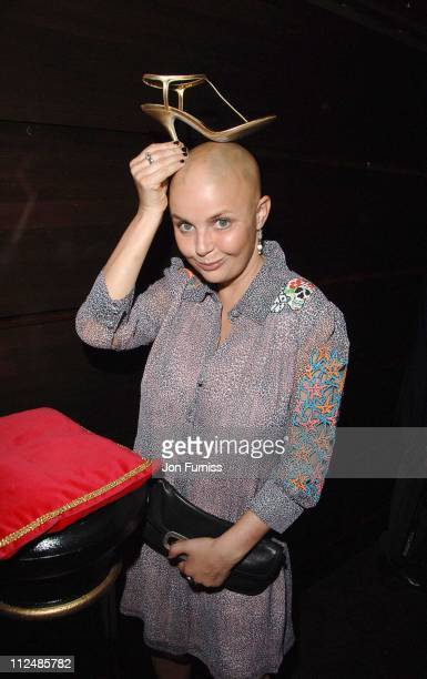 Gail Porter during Gina Shoe's 50th Birthday Party at The Bar at The Dorchester at Dorchester Hotel in London Great Britain