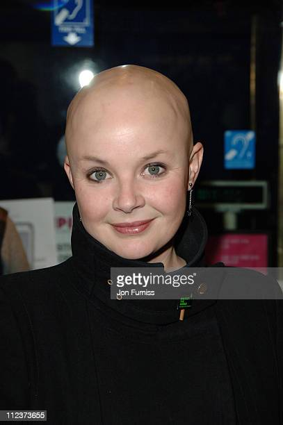 Gail Porter during 'Ice Age 2 The Meltdown' London Premiere Inside Arrivals at Leicester Square in London Great Britain