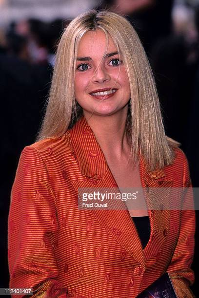 Gail Porter during 'Star Wars The Phantom Menace' Royal Premiere at Empire Leicester Square in London Great Britain