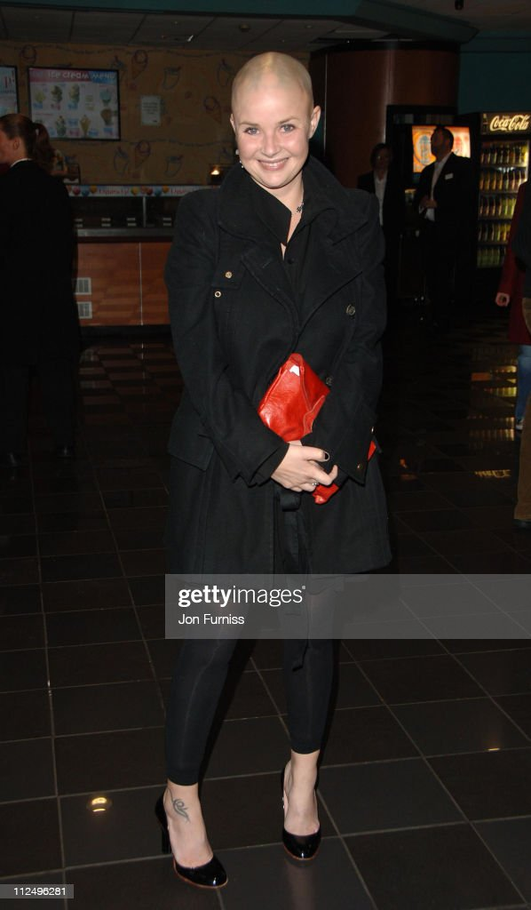 Gail Porter during 'Tenacious D in the Pick of Destiny' World Premiere - Foyer at Vue West End in London, Great Britain.