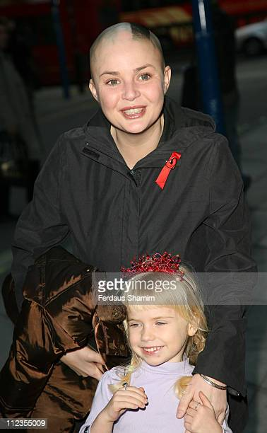 Gail Porter during The Snowman VIP Press Night Outside Arrivals at The Peacock Theatre in London Great Britain
