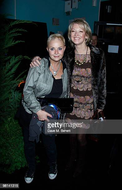 Gail Porter Gillian Taylforth attend the gala screening of 'How To Train Your Dragon' at Vue West End on March 28 2010 in London England