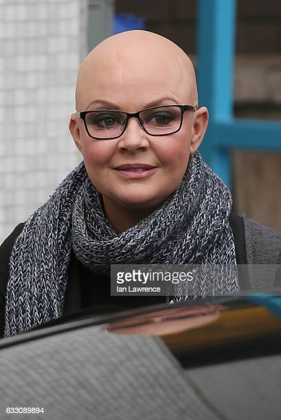 Gail Porter seen at the ITV Studios on January 30, 2017 in London, England.