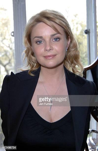 Gail Porter wearing Ortak jewellery Official sponsors of the 2005 TV Bafta's