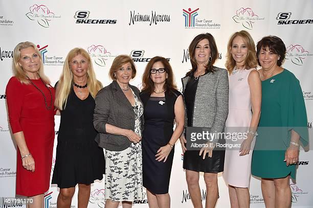 Gail Scher Randi Grant Sue RossChayes Cathy DeRoy Debra Goodman Shelley Warsavsky and Magnolia President Beth Goren attend the Magnolia Council's...