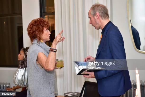 Gail ShieldsMiller and Tom Faulkner attend Tom Faulkner at Angela Brown Ltd on October 18 2017 in New York City