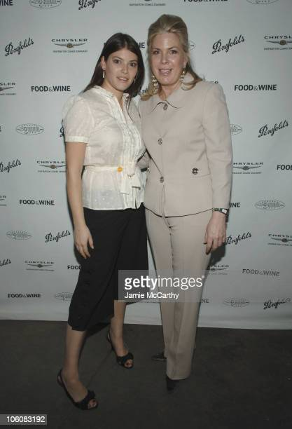 Gail Simmons and Julie McGowan Senior Vice President and Publisher of Food Wine Magazine