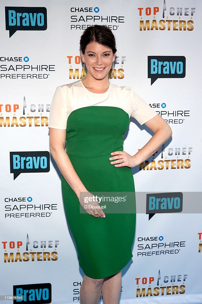 Gail Simmons attends Bravo's 'Top Chef Masters' Season 5 Premiere Celebration at 82 Mercer on July 16, 2013 in New York City.