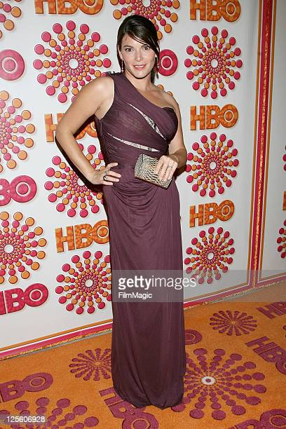 Gail Simmons attends HBO's Official Emmy After Party at The Plaza at the Pacific Design Center on September 18 2011 in Los Angeles California