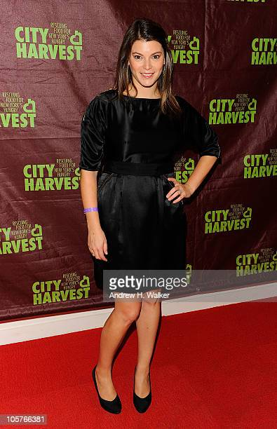 Gail Simmons attends the 16th Annual Bid Against Hunger Tasting Event hosted by City Harvest at Metropolitan Pavilion on October 19 2010 in New York...