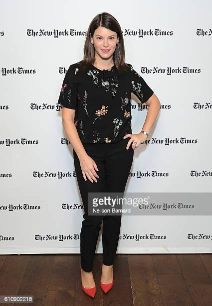 Gail Simmons attends The New York Times Food For Tomorrow Conference 2016 on September 28 2016 in Pocantico New York