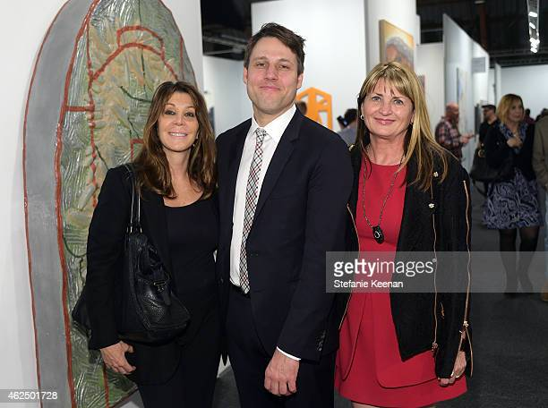 Gail Solomon Art Los Angeles Contemporary Director Tim Fleming and Marilyn Heston attend the Art Los Angeles Contemporary 2015 Opening Night at...
