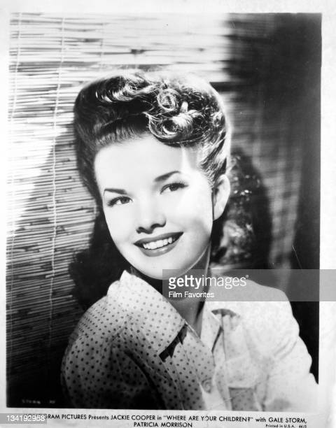 Gail Storm publicity portrait from the film 'Where Are The Children' 1940