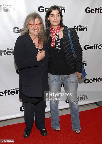 Gail Zappa and daughter artist Diva Zappa arrive at the Fifth Annual Backstage At The Geffen Gala at the Geffen Playhouse April 30 2007 in Los...