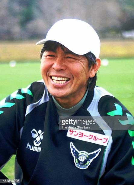 Gainare Tottori Head Coach Witthaya Hloagune speaks during the Asahi Shimbun interview on March 19 2009 in Tottori Japan
