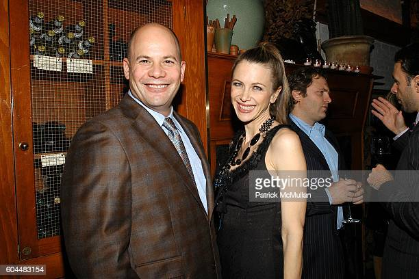 Gaines and Sasha Lazard attend Engagement Dinner for JAY MCINERNEY and ANNE HEARST hosted by GEORGE FARIAS at La Grenouille on November 20 2006 in...