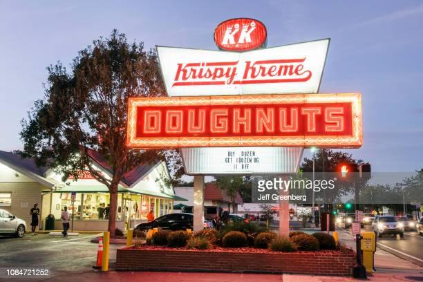 Gainesville, Krispy Kreme Doughnuts.