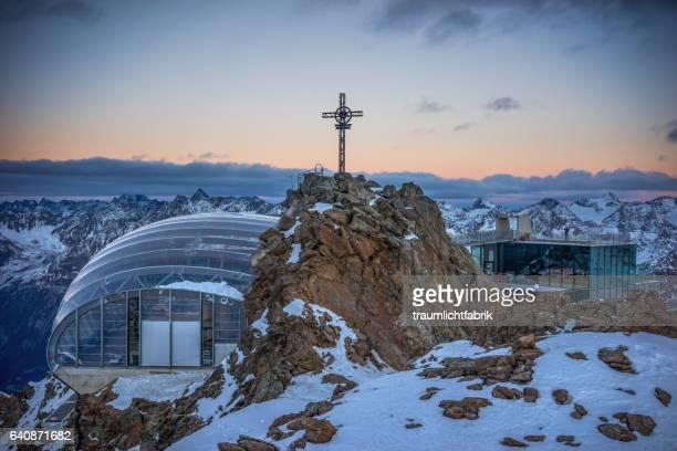 Gaislachkogel peak Skiing Station