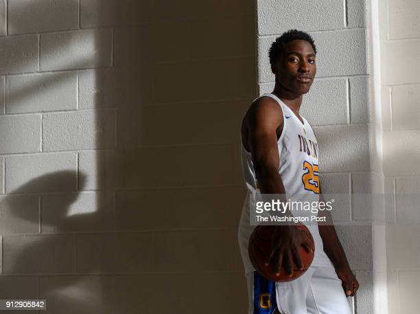 Gaithersburg freshman basketball player Jao Ituka poses for a picture during practice on November 21 2017 in Gaithersburg Md