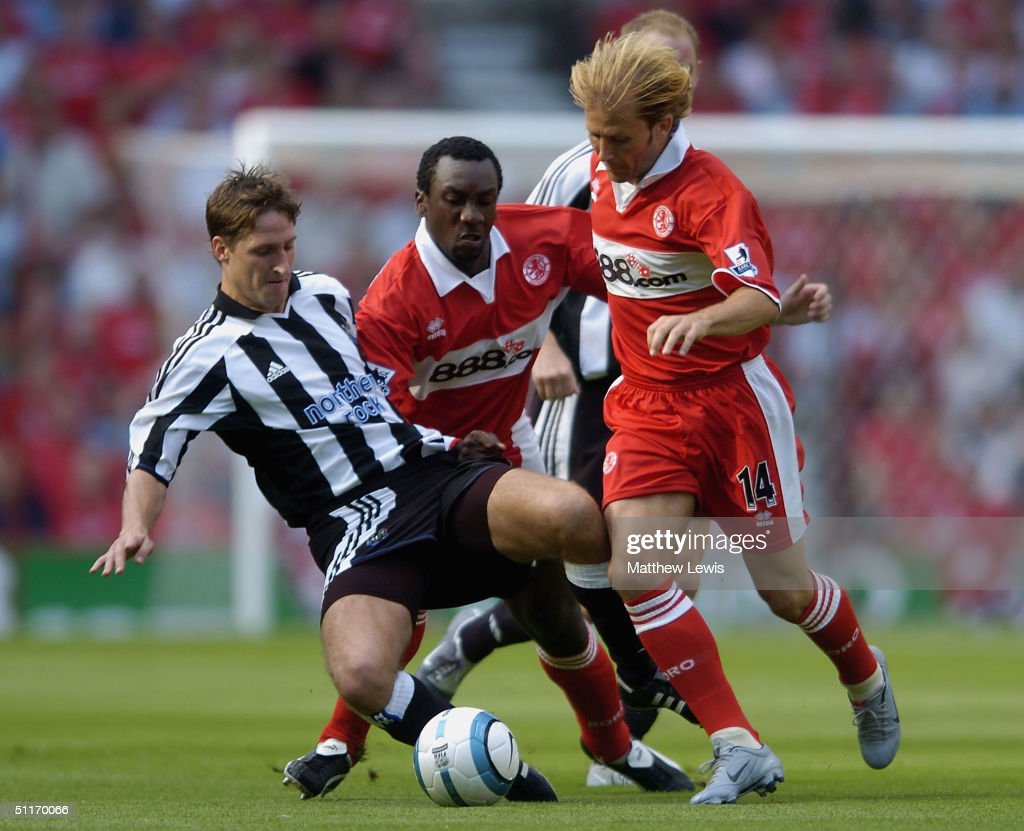 Middlesbrough v Newcastle United : Nieuwsfoto's