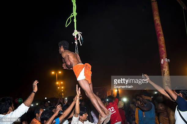 Gajan Festival and Charak Puja of West Bengal, India -10