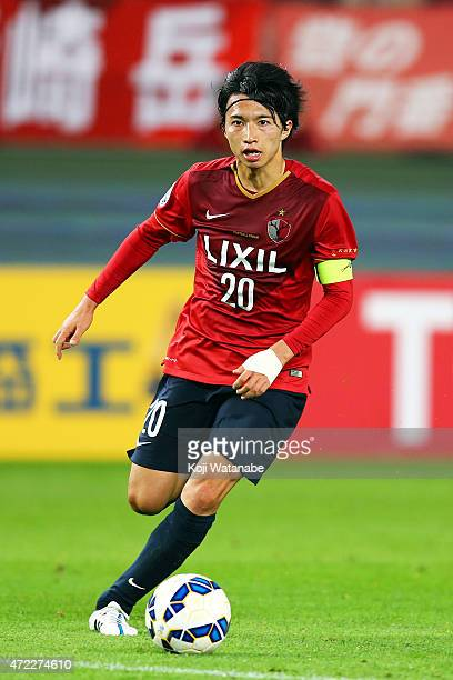 Gaku Shibasaki of Kashima Antlers in action during the AFC Champions League Group H match between Kashima Antlers and FC Seoul at Kashima Stadium on...
