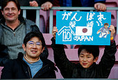 gaku shibasaki supporter during match between
