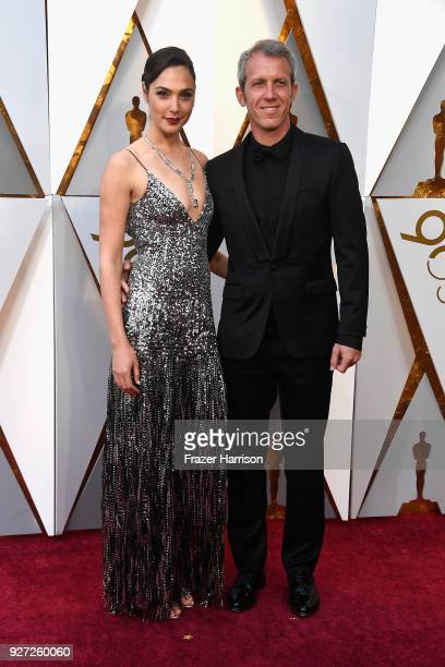 Gal Gadot and Yaron Varsano attend the 90th Annual Academy Awards at Hollywood Highland Center on March 4 2018 in Hollywood California