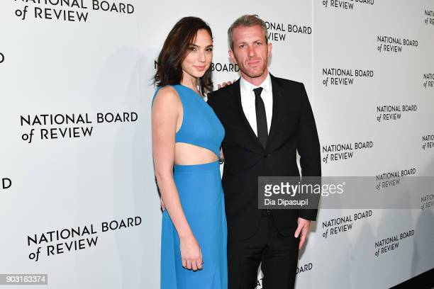 Gal Gadot and Yaron Versano attend the 2018 National Board of Review Awards Gala at Cipriani 42nd Street on January 9, 2018 in New York City.