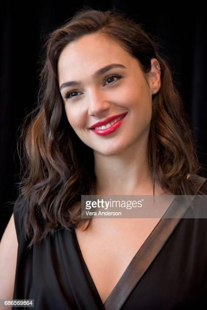 Gal Gadot at the 'Wonder Woman' Press Conference at 3Labs on May 19 2017 in Culver City California