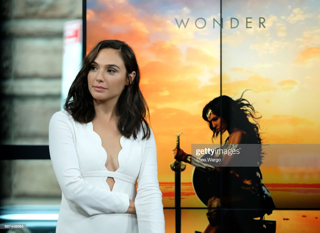 Gal Gadot attends Build Presents The Cast Of 'Wonder Woman' at Build Studio on May 23, 2017 in New York City.