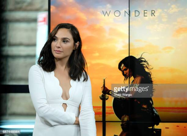 Gal Gadot attends Build Presents The Cast Of 'Wonder Woman' at Build Studio on May 23 2017 in New York City