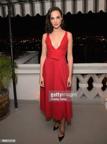 Gal Gadot attends GQ and Dior Homme private dinner in celebration of The 2017 GQ Men Of The Year Party at Chateau Marmont on December 7 2017 in Los...