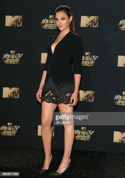 Gal Gadot attends the 2017 MTV Movie and TV Awards at The Shrine Auditorium on May 7 2017 in Los Angeles California