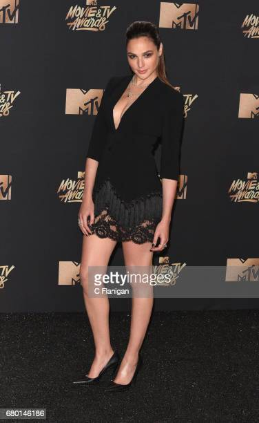 Gal Gadot attends the 2017 MTV Movie And TV Awards on May 7 2017 in Los Angeles California