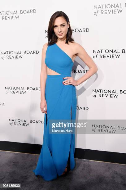 Gal Gadot attends the 2018 National Board Of Review Awards Gala at Cipriani 42nd Street on January 9 2018 in New York City