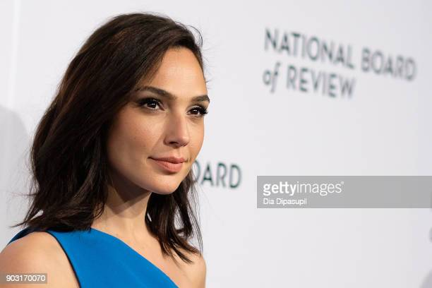 Gal Gadot attends the 2018 National Board of Review Awards Gala at Cipriani 42nd Street on January 9, 2018 in New York City.