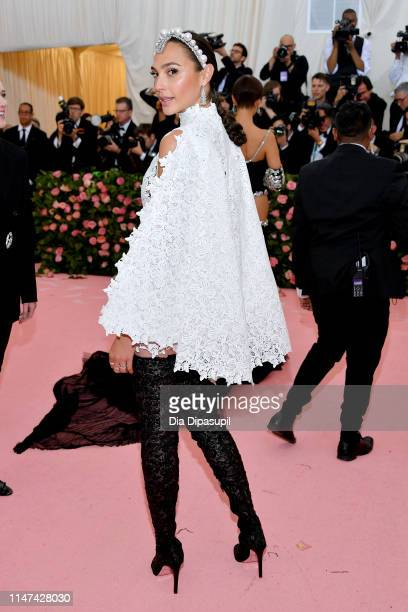 Gal Gadot attends The 2019 Met Gala Celebrating Camp Notes on Fashion at Metropolitan Museum of Art on May 06 2019 in New York City