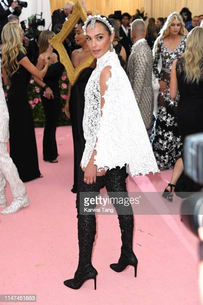 Gal Gadot attends The 2019 Met Gala Celebrating Camp Notes On Fashion at The Metropolitan Museum of Art on May 06 2019 in New York City