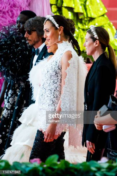 Gal Gadot attends the 2019 Met Gala celebrating 'Camp Notes on Fashion' at the Metropolitan Museum of Art on May 06 2019 in New York City