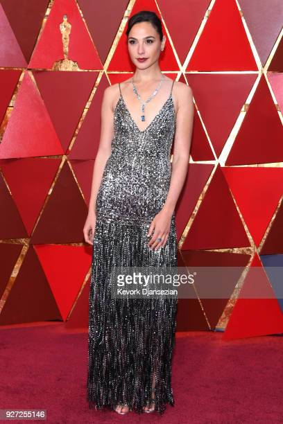 Gal Gadot attends the 90th Annual Academy Awards at Hollywood & Highland Center on March 4, 2018 in Hollywood, California.