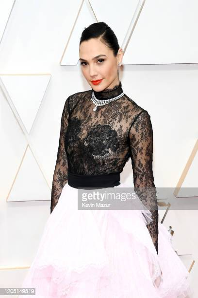 Gal Gadot attends the 92nd Annual Academy Awards at Hollywood and Highland on February 09, 2020 in Hollywood, California.